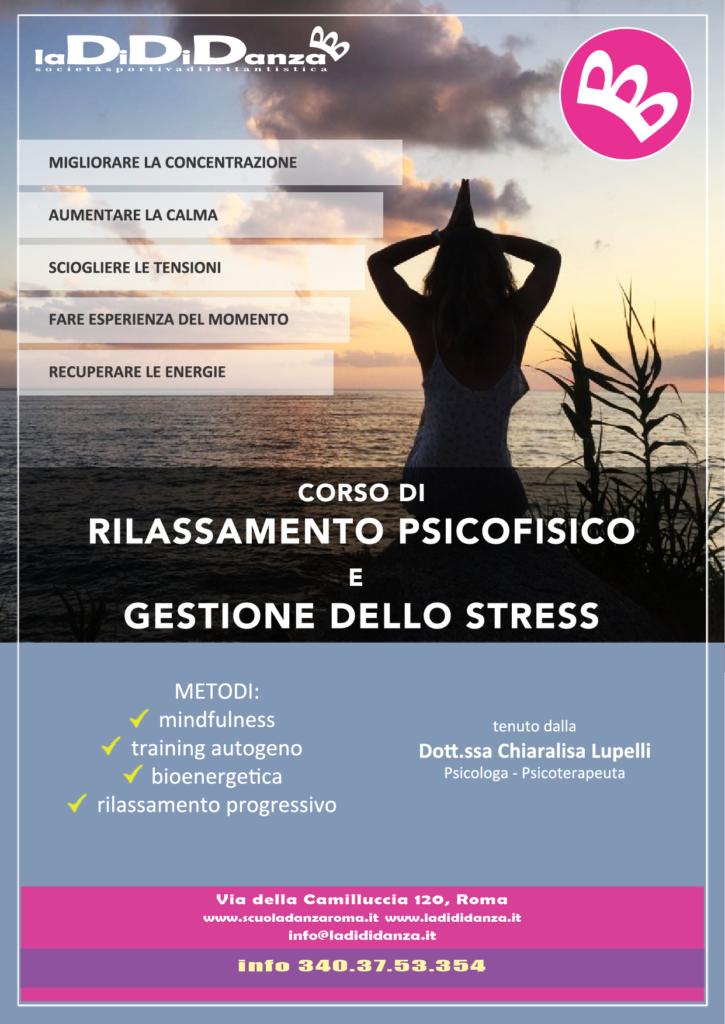 rilassamento e gestione stress