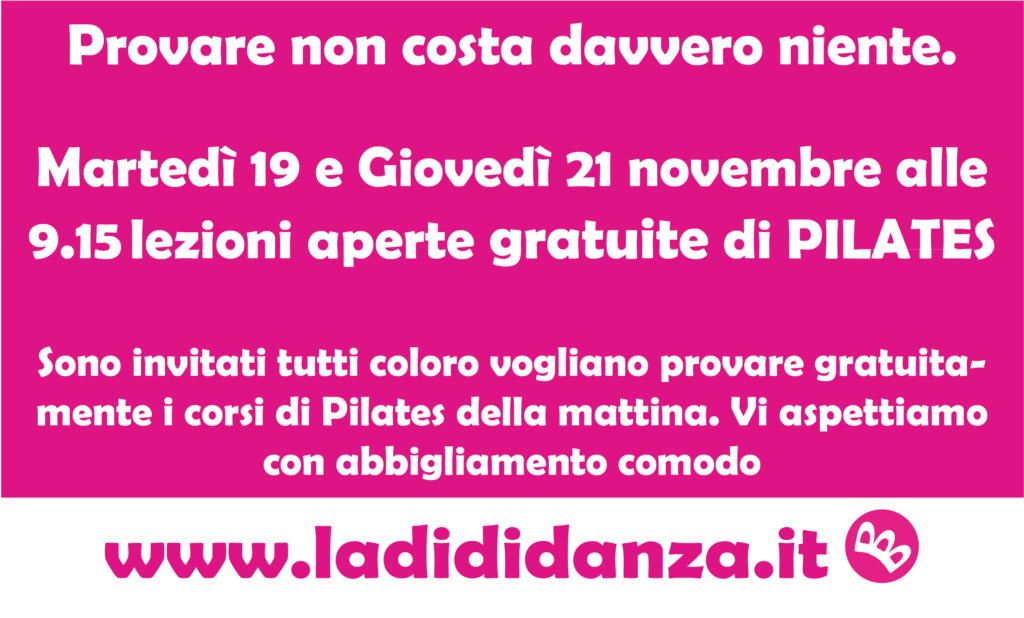 pilates ladididanza